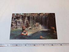 Submarine Falls Disneyland post card RARE Postcard Magic Kingdom Tomorrowland