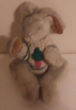 """Bunny Rabbit Carrot Sweater Boyds Collection Jointed 12"""" Plush Stuffed Animal"""