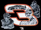 (3) Dale Earnhardt Sr 3 Glossy Vinyl Window Stickers 5x4 Bumper Decal NASCAR