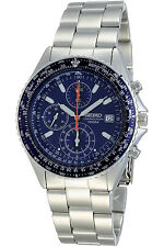 SEIKO SND255P1,Men's CHRONOGRAPH,STAINLESS STEEL,100M WR,NEW,SND255