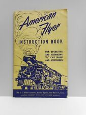 Vintage - American Flyer  - INSTRUCTION BOOK - Operating & Assembly  - 1952