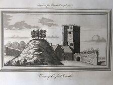 1769 Print; Oxford Castle, Oxfordshire