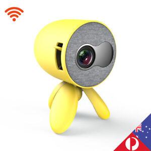 Mini Portable Wireless Mobile Phone LED Projector HD 1080P Cinema HDMI USB AU
