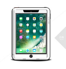 Coque antichoc IPAD  9.7 new 2017  LOVE MEI FRANCE - étanche - Blanc