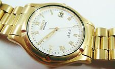 Seiko Gold Tone Base Metal 7M22-8A5L Sample Watch NON-WORKING