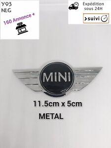 Logo Mini Cooper Métal 115 x 50mm Voiture Grille Capot Emblème Arrière