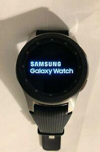 Samsung Galaxy Watch SM-R805U 46mm Silver Case Black Smart Watch (AT&T)