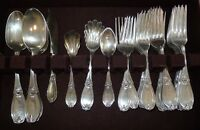 Tiffany & Co. Whiting Sterling Silver Grecian Devil 44 Pcs Rare Dinner Set