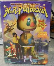 H.R. Pufnstuf: The Complete Series (DVD 2011 3-Disc Set) RARE W BOBBLEHEAD NEW