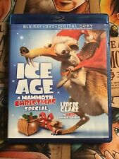 Ice Age: A Mammoth Christmas Special (Blu-ray Disc, 2011, Canadian French)