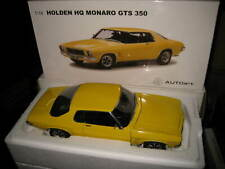AUTOart BIANTE 1/18 HOLDEN HQ GTS MONARO 350 1972 YELLOW DOLLY #73385 OLD STOCK