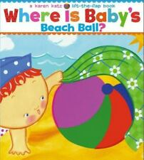 Where Is Baby's Beach Ball? (Board Book)