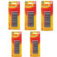 Kodak AAA Batteries 50 Pack Extra Heavy Duty for Toy Camera Torch Remote