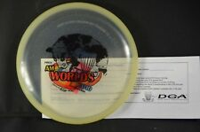 Reef Sparkle Pro 174g AM World's 2010 Clear NEW DGA PRIME Disc Golf Collectible