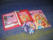 Winx Club PC juego raramente cmpleto. manual con versión completa alemana en DVD funda