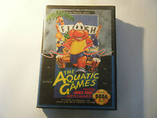 The Aquatic Games Starring James Pond - Sega MegaDrive - Sans Notice - Occasion