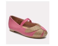 Toddler Girls' Margarette Ballet Flats - Cat & Jack™ Pink Girl's Size 12 NEW