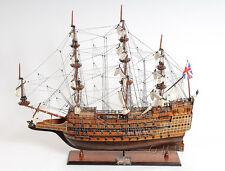 "SOVEREIGN of the Seas 35"" - Handmade Wooden Tall Ship Model T077"
