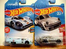 2018 Hot Wheels Porsche Set Of 2 : Kmart Porsche 934 ,Porsche 917Lh
