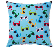 SET of 2 Ikea SOMMAR 2019  Pillow Cushion Cover Blue 50 x 50cm NEW