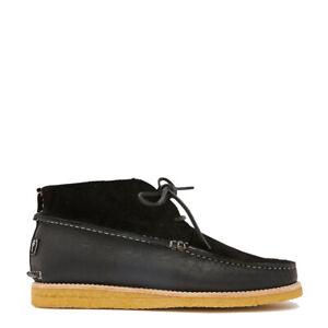 Yogi Lucas Suede / Leather Crepe Shoe Black - SALE!!