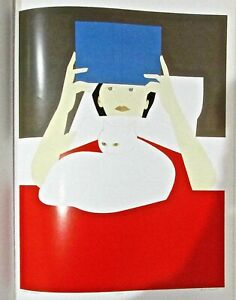Will Barnet Poster Woman Reading Offset Lithograph 16x11 Unsigned Offset Litho
