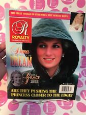 Royalty Magazine Volume 13 #4, 1994 DIANA THE DECADE OF THE DREAM & P.GRACE - NM