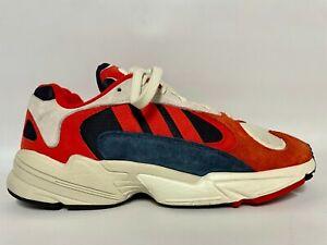 Adidas Originals  Yung 1 Trainers - B37615 - Red/Chalk/White/Black - UK 9/US 9.5