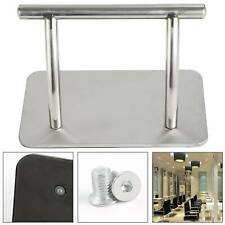 Sturdy Stainless Steel Footrest Foot Rest Barbers Hairdresser Tattoo Salon Chair