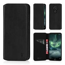32nd Serie Classica 2.0 - Custodia in Pelle Vera Cover per Nokia 7.2 (2019)