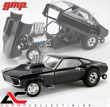 "GMP 18932 1:18 1969 FORD MUSTANG GASSER ""TRIPLE BLACK"""