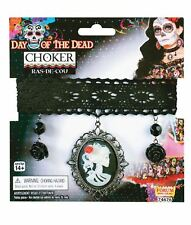 Forum Novelties 74676f Day of The Dead Choker Necklace