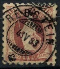 Suisse 1906 SG#144, 1 F Standing Helvetia P9.5 utilisé Cat £ 110 #D71097
