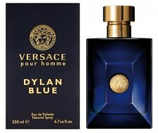 NEW Versace Dylan Blue pour homme Edt Eau de Toilette Spray for Men 200ml