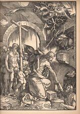 ALBRECHT DÜRER - THE PASSION OF THE JESUS CHRIST * RELIGIOUS PRINT 1938 durer