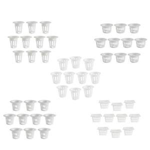 10pcs Durable Heavy Duty Mesh Pot Net Cup Basket Hydroponic Aeroponic Clone
