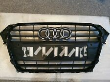 AUDI A4 BLACK EDITION 2012 TO 2015 GENUINE FRONT MAIN GRILL PDC PN:8K0853651E