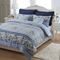 DUVET COVER BEDDING SET 200 THREAD COUNT ROSEMARY FLORAL 100% EGYPTIAN COTTON