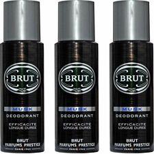 Brut Musk Deodorant Body Spray For Men 200ml x 3 (Pack of 3)