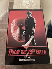 NECA Jason Voorhees Friday The 13th Part V 7 inch Action Figure Brand New