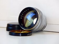VERY RARE SILVER JUPITER 3 1,5/50mm Russian lens (Kiev/Contax) EXC