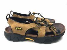 KEEN Womens Size 8 Tan Waterproof Leather Sandals (B4)