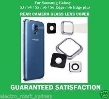Replacement Camera Glass Lens Cover Frame For Samsung Galaxy S3 S4 S5 S6 Edge