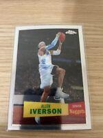 2007-08 Allen Iverson (LOT) Topps Chrome #33 and 1957 Variation MINT #33 HOF MVP
