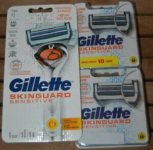 Gillette Skinguard 1 Rasoir + 20 Recharge - Neuf Scellé