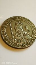 More details for a rare king charles 1 st silver plated 1643 crown copy coin