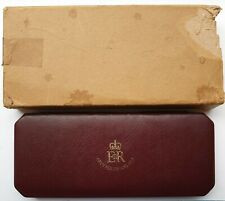 More details for 1953 queen elizabeth 10 coin proof set, crown to farthing in original red box
