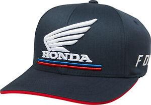 Fox Racing Youth Honda Fanwear Flex Fit Hat - Navy BNWT