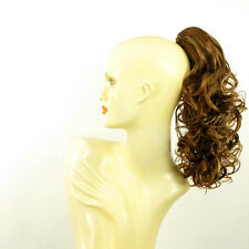 Hairpiece ponytail curly 15.75 golden brown wick  3/6bt27b peruk