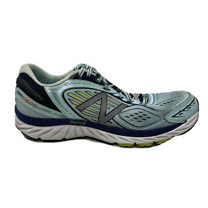 New Balance 860 V7 Running Shoes Womens Size 12 2E Wide NO INSOLES Blue Sneakers